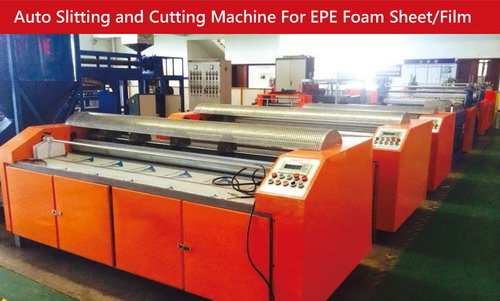 Auto Slitting and Cutting Machine for EPE Foam Sheet/Film