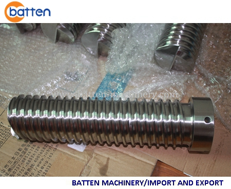 screw and barrel, food extrusion, food extruder, good quality screw