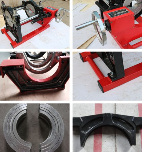 Hot sale SHBDST160 Manual hdpe pipe butt fusion welding